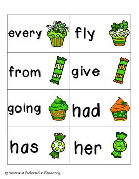 Lucky Treats Sight Words! First Grade List Pack