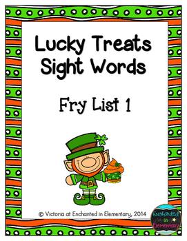 Lucky Treats Sight Words! Fry List 1
