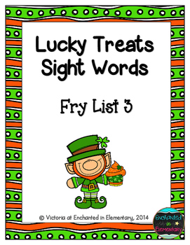 Lucky Treats Sight Words! Fry List 3