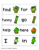 Lucky Treats Sight Words! Pre-Primer List Pack