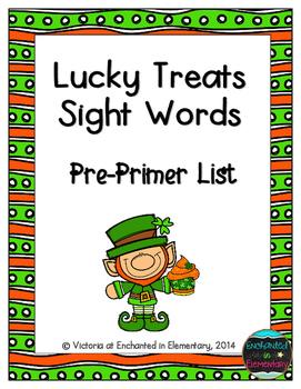Lucky Treats Sight Words! Pre-Primer List Pack