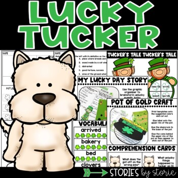 Lucky Tucker (Book Questions, Vocabulary, & Pot of Gold Cr
