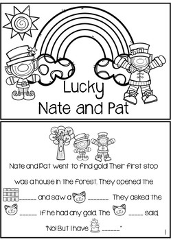 Lucky Vowel {Short A and Long A Activity Pack}