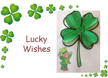 Lucky Wishes Art or Writing