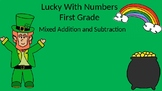 Lucky With Numbers Mixed Addition and Subtraction