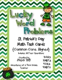Lucky Word Problems Task Cards {Common Core}