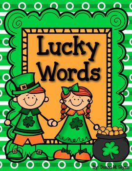 Lucky Words:  Roll a Word  Real and Nonsense Great for Dibels & RTI