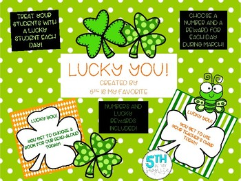 Lucky You! A Fun Activity for the Month of March!
