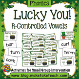 R-Controlled Vowels - Lucky You! St. Patrick's Day Game