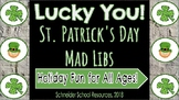 Lucky You!: St. Patrick's Day Mad Libs (Holiday Fun for al
