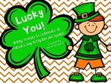 Lucky You! (Writing Prompts for St. Patrick's Day in English and Spanish)