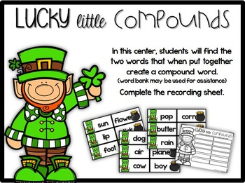Lucky for Literacy {6 Literacy Centers for March}