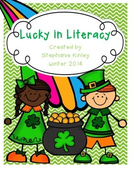 Lucky in Literacy - 21 Print and Go Sheets