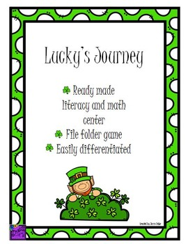 Lucky's Journey- Literacy and Math game