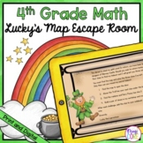 Lucky's Map Math Escape Room - Google Distance Learning &
