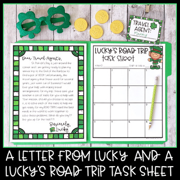 Lucky's Road Trip Math Mission