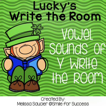 Lucky's Write the Room { Y at the end of a word}