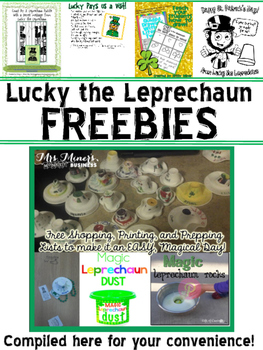 Lucky the Leprechaun Freebie Compilation
