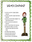 Lucky the Leprechaun St. Patrick's Day Math Bundle