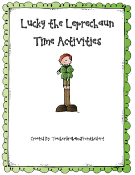 Lucky the Leprechaun Time Activities!