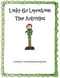 Lucky the Leprechaun Time Activities!