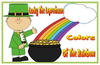 Lucky the Leprechaun colors of the rainbow