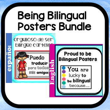 Lucky to Be Bilingual Bundle in English & Spanish