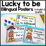Lucky to Be Bilingual Posters
