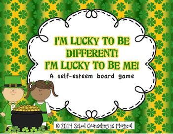 Lucky to Be Different! Lucky to Be Me! (self-esteem board game)