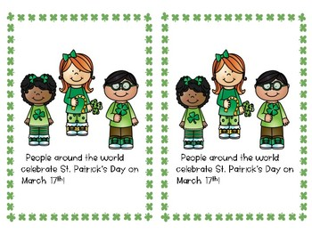 Lucky in Kinder (March Literacy Activities K-2)!