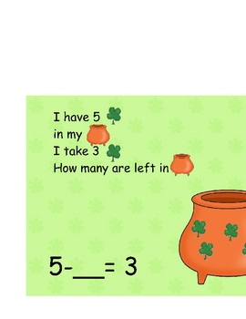 Lucky's Missing Variable: Subtraction Problems