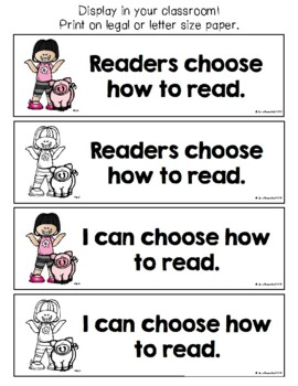 Lucy Reading Workshop: 2nd Grade Teaching Points & I Can Statements - Unit 1