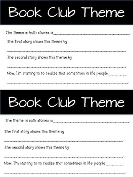Lucy Calkins Book Series/Club Theme