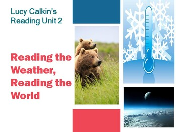 Lucy Calkin's Reading 4th Grade Reading Unit 2 Bend 1 PPT