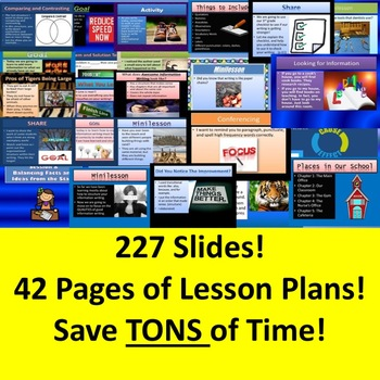 Lucy Calkins 3rd Grade Writing Unit 2 ALL SESSIONS Power Points Lesson Plans