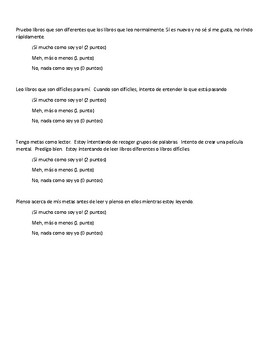 Lucy Calkins 3rd grade Reading Unit of Study 1 Unit 1- Grit Test