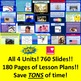 Lucy Calkins 4th Reading SUPER PACK Units 1-4 ALL SESSIONS Slides Lesson Plans