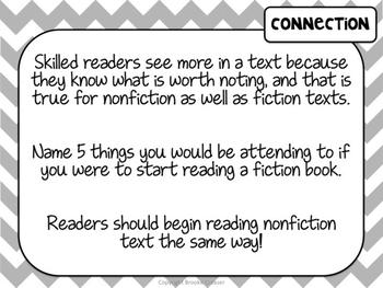 Lucy Calkins Unit Plans: 5th Grade Reading Unit 2-Moving Up Levels Nonfiction