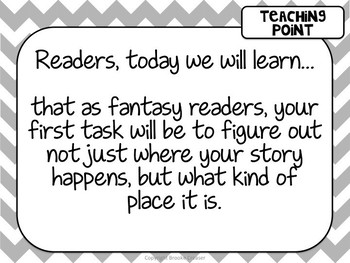 Lucy Calkins Unit Plans 5th Grade Reading Unit 4 - Fantasy Book Clubs Powerpoint