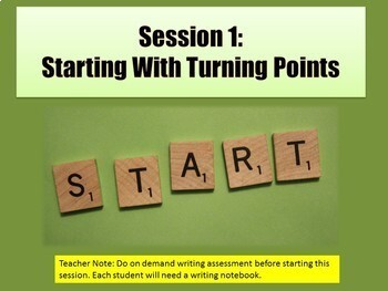 Lucy Calkins 5th Grade Writing Unit 1 Slides Lesson Plans