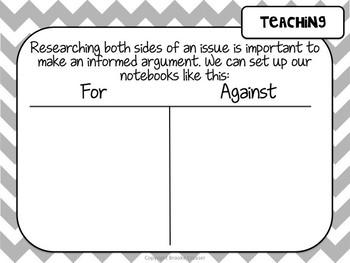 Lucy Calkins Unit Plans: 5th Grade Writing Unit 4-Research Based Argument Essay