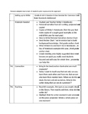 Lucy Calkins 6th Grade Unit 1 Session 1 Personal Narratives