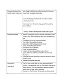 Lucy Calkins 6th Grade Unit 2 Session 2