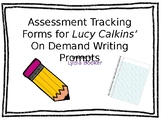 Lucy Calkins' Assessment Tracking