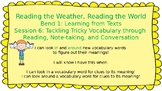 Lucy Calkins: Bend 1: Reading the Weather, Reading the World Session 6 PPT