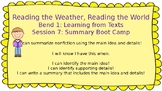 Lucy Calkins: Bend 1: Reading the Weather, Reading the World Session 7 PPT