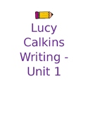Lucy Calkins Binder Covers & Edges