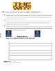 Lucy Calkins Boxes and Bullets Grade 4 Student organizer