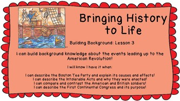Lucy Calkins Bringing History to Life Building Background 3