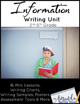 Information Writing Mini Lessons